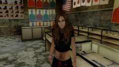 Carlita for GTA San Andreas