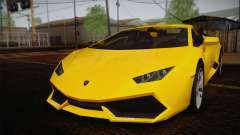 Lamborghini Huracane LP 610-4 V2.0 for GTA San Andreas