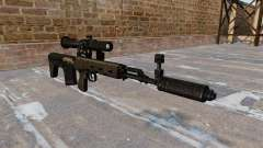 SVD sniper rifle shortened