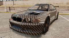 BMW M3 GTR 2012 Drift Edition for GTA 4