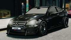 Mercedes-Benz C63 AMG Black Series 2012