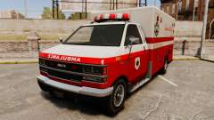 Iranian paint ambulance