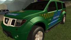Nissan Pathfinder Police for GTA San Andreas