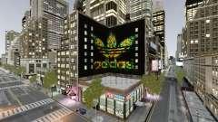 Big advertising Adidas Originals