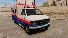 Brute MRSA Paramedic for GTA 4
