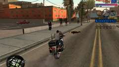 The new C-HUD Ghetto for GTA San Andreas