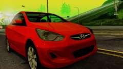 Hyndai Solaris for GTA San Andreas