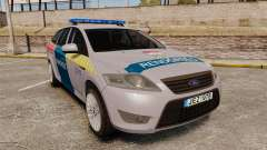 Ford Mondeo Hungarian Police [ELS] for GTA 4
