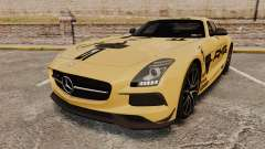 Mercedes-Benz SLS 2014 AMG Driving Academy v2.0 for GTA 4