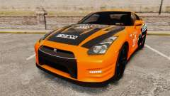 Nissan GT-R 2012 Black Edition NFS Underground for GTA 4