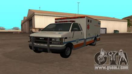 GTA 5 Ambulance for GTA San Andreas