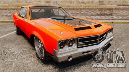 Declasse SabreGT new wheels for GTA 4