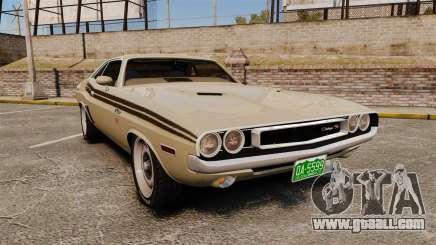 Dodge Challenger RT 1972 for GTA 4
