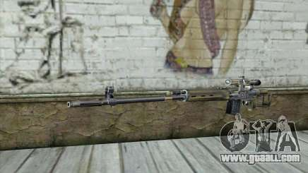 Sniper Rifle from a Stalker for GTA San Andreas