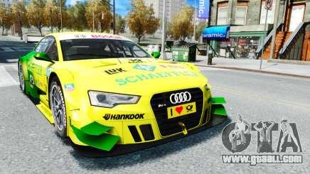 Audi RS5 DTM for GTA 4