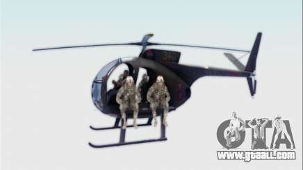 OH-6 Cayuse for GTA San Andreas