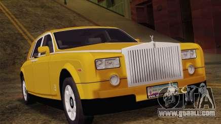 Rolls Royce Phantom 2003 for GTA San Andreas