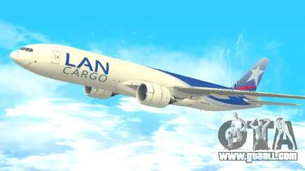 Boeing 777 LAN Cargo for GTA San Andreas