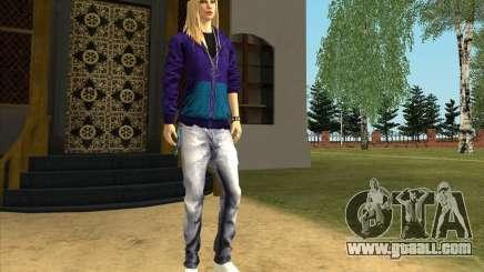 Skin Avril Lavigne for GTA San Andreas