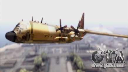 C-130 Hercules Royal Moroccan Air Force for GTA San Andreas