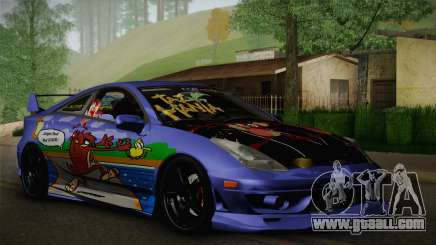 Toyota Celica Taz Mania Street Edition for GTA San Andreas