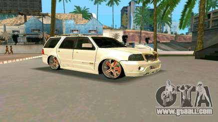 Lincoln Navigator DUB Edition for GTA San Andreas
