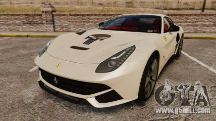 Ferrari F12 Berlinetta 2013 [EPM] Deaths-head for GTA 4