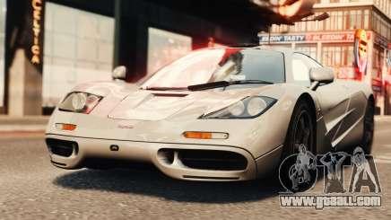 McLaren F1 XP5 for GTA 4