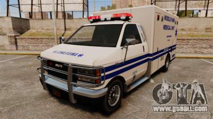 Brute MPMU Ambulance for GTA 4