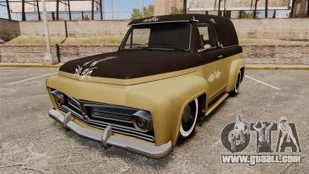 Vapid Slamvan for GTA 4