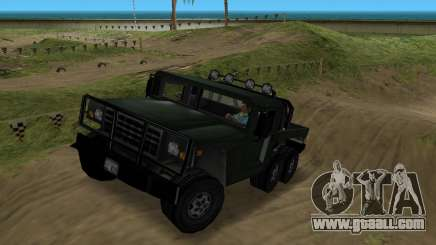 Patriot 6x6 for GTA Vice City