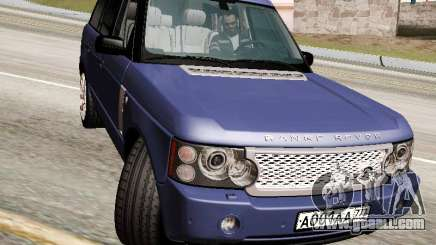 Land Rover Supercharged Stock 2010 V2.0 for GTA San Andreas