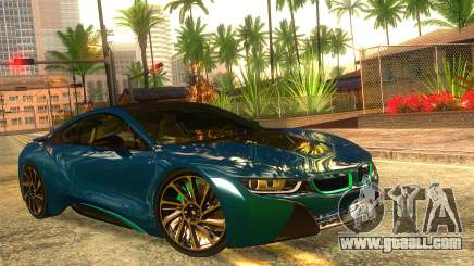 BMW I8 2013 for GTA San Andreas