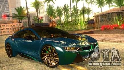 BMW I8 2013 for GTA San Andreas