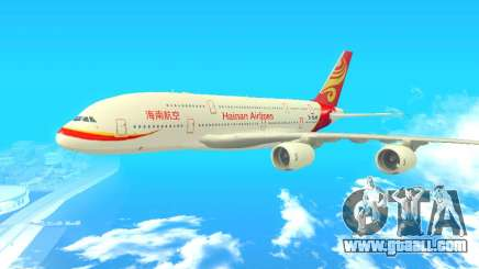 A380-800 Hainan Airlines for GTA San Andreas