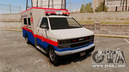 Brute MRSA Paramedic for GTA 4