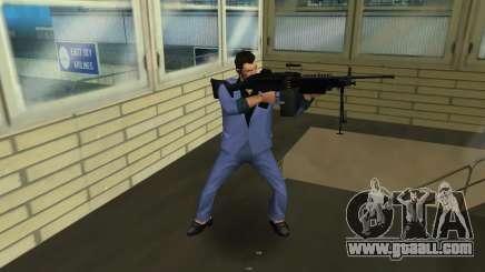 M249 из Battlefield 2 for GTA Vice City