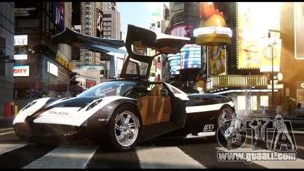 Pagani Huayra Police v1.1 for GTA 4