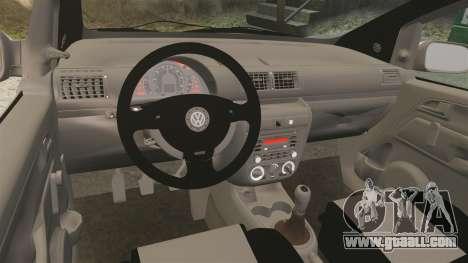 Volkswagen Fox for GTA 4 back view
