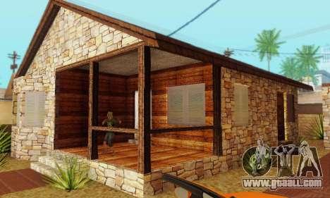 New house big Smoke for GTA San Andreas forth screenshot