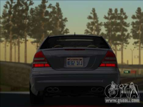 Mercedes-Benz C32 AMG Vossen V1.0 2004 for GTA San Andreas left view