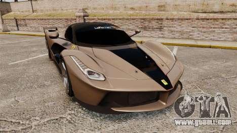 Ferrari LaFerrari v2.0 for GTA 4