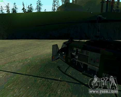 UH-1D Huey for GTA San Andreas left view