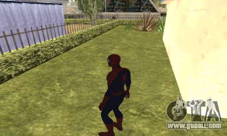 The new spider-man for GTA San Andreas fifth screenshot