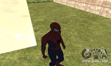 The new spider-man for GTA San Andreas third screenshot