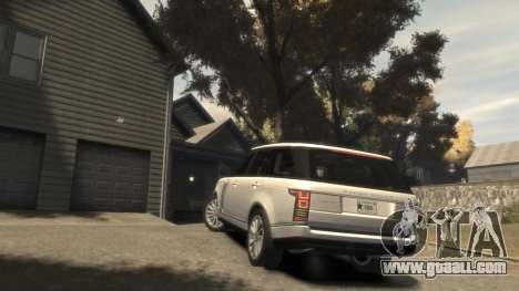 Range Rover Vogue 2014 for GTA 4 side view