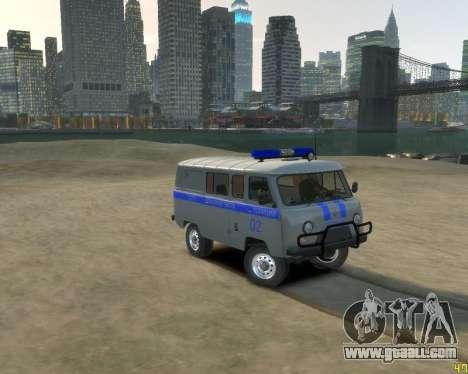 UAZ 39099 for GTA 4