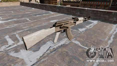 The AK-47 ACU Camo for GTA 4 second screenshot