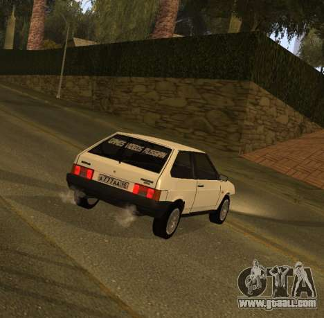 ВАЗ 2108 GVR Version 1.2 for GTA San Andreas left view