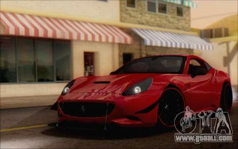 Ferrari California v2 for GTA San Andreas